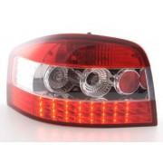 FK-Automotive fanale posteriore a LED per Audi A3 (tipo 8P) anno di costr. 03-05, chiaro/rosso