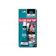 Silicon etansare rosu, rezistent la temperaturi ridicate, 60 ml, BISON
