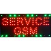 Reclama LED - SERVICE GSM -