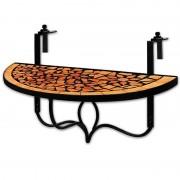 Stół Balkonowy Podwieszany Mozaika Składany