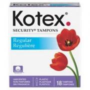 KIMBERLY CLARK Regular Kotex Brand Tampons Model: 15880