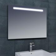 Badkamerspiegel Tigris 80x80cm Geintegreerde LED Verlichting Lichtschakelaar