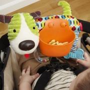 Развивающая игрушка органайзер на коляску Skip Hop Puppy Stroller Bar Snack Toy