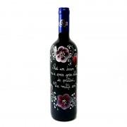 Sticla de vin aniversare