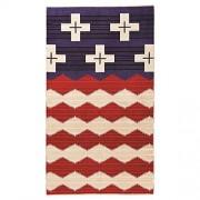 Pendleton Toalla de Jacquard (tamaño Grande), diseño de Estrella Valiente Rojo, Blanco y Azul