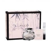 Gucci Gucci Bamboo confezione regalo Eau de Toilette 75 ml + lozione per il corpo 100 ml + Eau de Parfum 7,4 ml donna