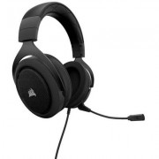 Слушалки с микрофон corsair gaming hs50 stereo gaming headset, blue, 50mm neodymium speaker drivers, ca-9011172-eu