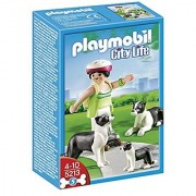 PLAYMOBIL Border Collies with Puppy
