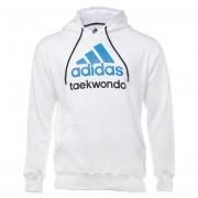Sudadera Adidas Taekwondo en Algodón Infantil Unisex-Blanco