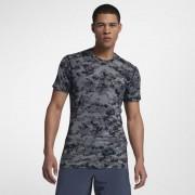 Nike Kurzarm Herren-Trainingsoberteil - Grau
