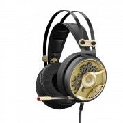 HEADPHONES, A4 M660 Bloody, Gaming, Microphone, Black/Gold
