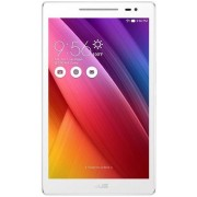 "Tableta Asus ZenPad Z380M, Procesor Quad-Core 1.3GHz, IPS HD Capacitive touchscreen 8"", 2GB RAM, 16GB Flash, 5MP, Wi-Fi, Android (Alb) + Cartela SIM Orange PrePay, 6 euro credit, 6 GB internet 4G, 2,000 minute nationale si internationale fix sau SMS natio"