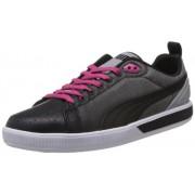 Puma Unisex Future Suede Lo FIL Black and Beetroot Purple Sneakers - 10 UK