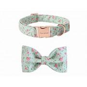USP Pet Soft &Comfy Bowtie Dog Collar Cat Collar Pet Gift Dogs Cats 6 Size 7 Patterns