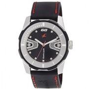 Fastrack Analog Black Round Watch -3099SP04