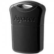 Памет Apacer Flash Drive AH116, 32GB, USB 2.0, Черна, AP32GAH116B-1
