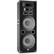 Auna PA-2200 1000W Zwart luidspreker