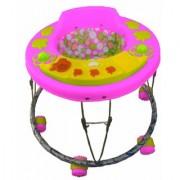 Oh Baby 3 Musical Light Apple Shape Pink Color Walker For Your Kids SE-W-78