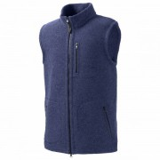 Mufflon - Ivo - Gilet en laine mérinos taille L, bleu