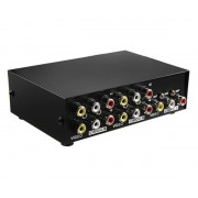 4 Port Video/Audio RCA Switch 4 Inputs 1 Output