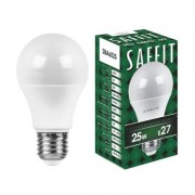 Лампа светодиодная Saffit SBA6525 A65 25W E27 6400K 55089