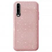 Puro Shine Glitter Huawei P30 Lite TPU Case - Rose Gold