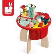 O mare masă din lemn pentru copii de învățământ Pădurea Janod - J08018