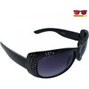 Polo House USA Oval Sunglasses(Black)
