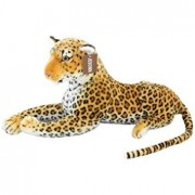 "JESONN Realistic Large Stuffed Animals Cheetah Plush Toys Spotted Leopard for Kids,23.6"" or 60 Centimeter,1PC"