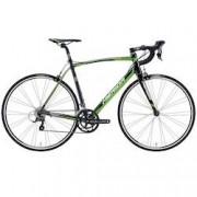 Merida Bicicleta Speed Merida Scultura 100 - Aro 700 - Freio Dual Pivot - Câmbio Shimano - 16 Marchas - PRETO/VERDE
