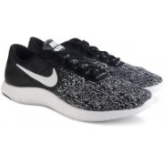 Nike WMNS NIKE FLEX CONTACT Running Shoes For Women(Black, White)