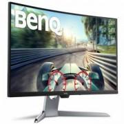 Монитор BenQ EX3203R, VA, 31.5 inch, Wide, 1440p, 144Hz, HDMI, DisplayPort, Type-C, Извит, DisplayHDR 400, AMD FreeSync 2, Сив, BENQ-MON-EX3203R
