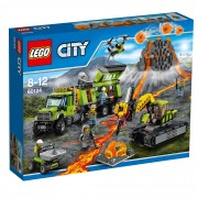 Lego City Volcano Volcano Exploration Base 60124