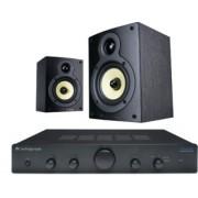 Pachete PROMO STEREO - Wharfedale - Crystal 4.1 + Cambridge Audio Topaz AM5 Walnut