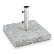 Blumfeldt Schirmherr 30SQ Solparasollställ 30 kg Terrass Granit Grå Polerad