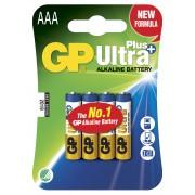 Blister 4 Batterie AAA Mini Stilo GP Ultra Plus