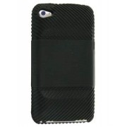 Silicone Case for iPod Touch 4 - Apple Soft Cover (Black)