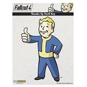 FanWraps Fallout 4 Thumbs-Up Vault Boy Mini PVC Decal Action Figure