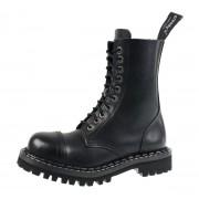 Stiefel Boots STEADY´S - 10 dírkové - Schwarz - STE/10_black