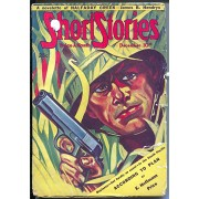 Short Stories 12/10/1943-WWII era issue-war cover and story-VG