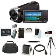 Sony HDR-CX405/B 9.2MP Video Recording Camcorder with 29.8mm Wide-Angle Carl Zeiss Zoom Lens (Black)