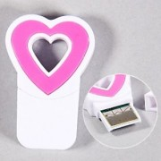 High Speed Data Transfer New Heart Style Micro SD/ TF Card Reader -White