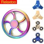 Tri Fidget Spinner Fantastic Metal Spiner Toys EDC Hand Spiner High Speed Wheel Finger Spinner Toys for Anxiety Stress Kids Gyro