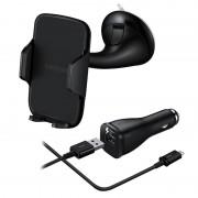 Samsung Car Kit - Car Holder %26 Fast Car Charger with USB-C Cable