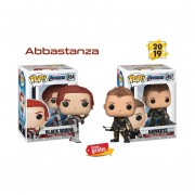 black widow Hawkele Funko pop end game avengers abbastanza