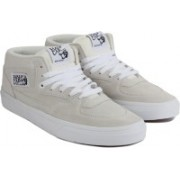 Vans Half Cab Mid Ankle Sneakers For Men(Beige)