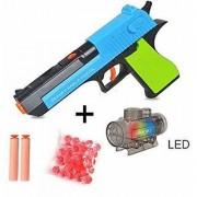 AKSHATA Crystal Jelly Gun Jelly Shots and Foam Darts Toy Gun - High Range Shots