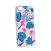Husa Apple iPhone SE 5S 5 Silicon Tropical Blue W112
