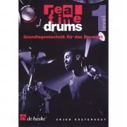 De Haske Real Time Drums 1 - Grundlagentechnik für das Drumset