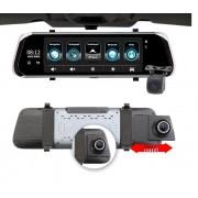 Oglinda Retrovizoare Star Senatel E08 Plus DVR 4G, GPS, 10 inch, 1GB RAM 16GB ROM, Wifi, Bluetooth, Camera fata spate, ADAS, FHD